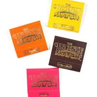 Incense Matches - Warm & Spicy (Pack of 4 Scents)