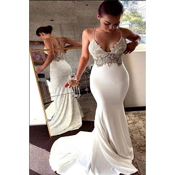 Sexy Mermaid Prom Dress, Special Occasion Dress, Evening Dress, Dance Dresses, Graduation School Party Gown, DT0704