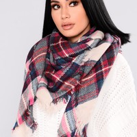 Snow Chic Scarf - Pink