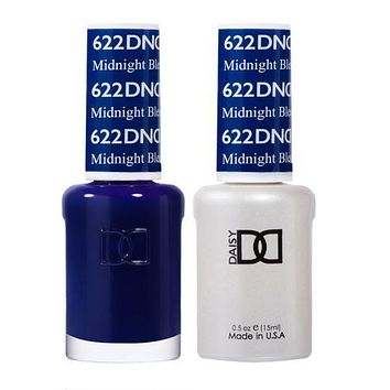 DND - Gel & Lacquer - Midnight Blue - #622