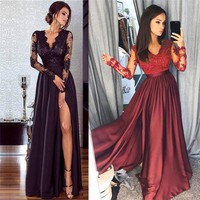 2018 Summer Long Dress Women Convertible Bohemian Dresses Casual Bandage Evening Club Party Maxi Dresses Wedding Long Dress
