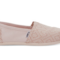 TOMS Whisper Woven Diamond Women's Classics Natural
