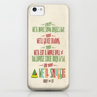 Buddy the Elf! And then...we'll snuggle. iPhone & iPod Case by Noonday Design | Society6