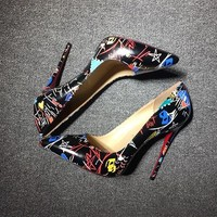 Christian Louboutin Cl Pumps High Heels Reference #02bk55 - Best Deal Online