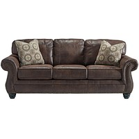 Benchcraft Breville Sofa in Faux Leather