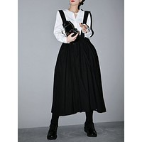 Nara Double Layer Elastic Empire Skirt
