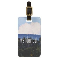 Wanderlust Luggage Tag from Zazzle.com