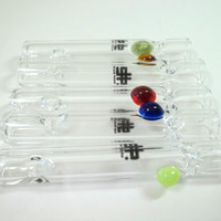 Glass Pipe, Scientific Chillum, Hitter, READY to SHIP, Boro Ballers, Cgge Team, Slyme, Red, Choose your own colors