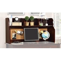 Wooden Hutch with spacious storages, Cherry Brown
