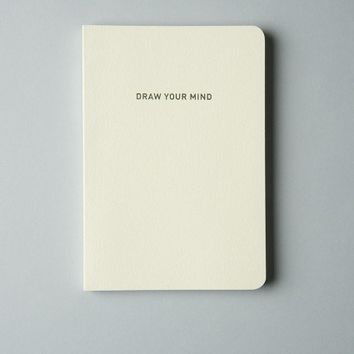 'Draw Your Mind' Notebook by MMMG