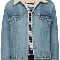 Blue Denim 1967 Sherpa Jacket