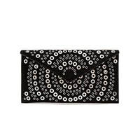 AZZEDINE ALAÏA   Suede Envelope Clutch   brownsfashion.com   The Finest Edit of Luxury Fashion   Clothes, Shoes, Bags and Accessories for Men & Women