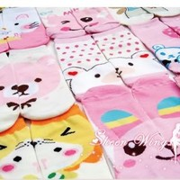 6 pairs Women girl Socks cartoon cute Cotton Sport new fashion colorful