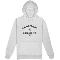 Champagne & Cocaine Ladies Hooded Pullover