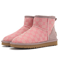 ugg Gucci GG snow boots