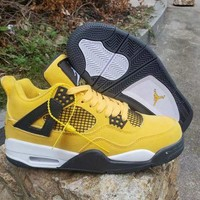 DCCK Air Jordan 4 Retro AJ4 Tour Yellow