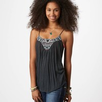 AE Embroidered Cami   American Eagle Outfitters