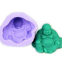 Soap Mold Soap Mould Silicon Mold Candle Mold Resin Mold Laughing Buddha