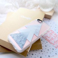 Beautiful iPhone 6s & 6s Plus Case (Snow into the Forest Pattern) by Casetify