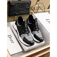dior fashion men womens casual running sport shoes sneakers slipper sandals high heels shoes 229