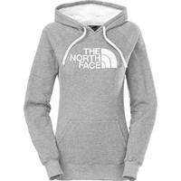 The North Face Casual Long Sleeve Plus Velvet Hooded Top Sweater Pullover Hoodie-1