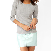 Pearlescent Embellished Sweater