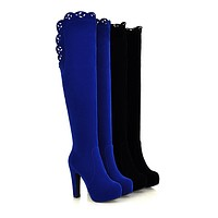 Knee High Boots High Heels Women Shoes Fall|Winter 1571