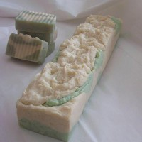 Handmade Cucumber Melon 4lb Soap Loaf