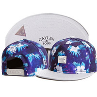 Tropical Flora Cayler Sons Snapback Caps Women's Baseball Hat