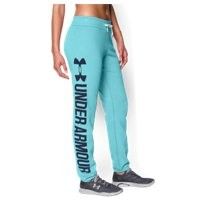 Under Armour Women's UA Favorite Fleece Word Mark Boyfriend Pant