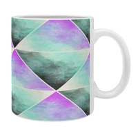 Allyson Johnson Painted Triangles Coffee Mug