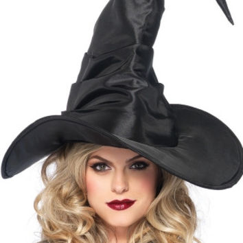 Extra Large Scrunched Witch Hat