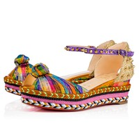 Madcarina 60 Version Multi Disco Square - Women Shoes - Christian Louboutin