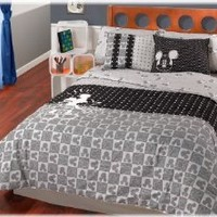 Disney Mickey Mouse Complete 8 Pc Comforter Set / Queen