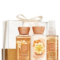 Mini Wrapped with a Bow Gift Set Warm Vanilla Sugar