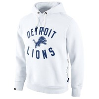 Nike Detroit Lions Washed Pullover Hoodie - White
