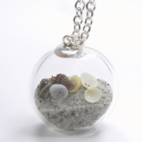 Summer Souvenir Collection  Pure Sand Tiny Shells by TheEboutique