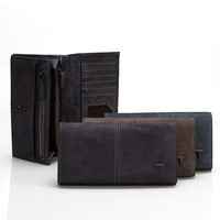 Leather Vintage Weathered Wallet [9026276995]