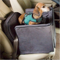 Luxury Lookout II Dog Car Seat - Medium/Pink/Pink