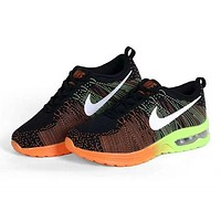 """Nike"" Fashion Breathable Cushioning Sneakers Sport Shoes Black"