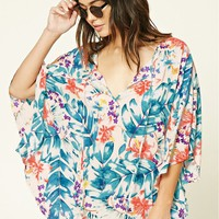 Floral Cover-Up Kaftan