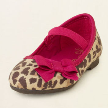 baby girl - shine bow ballet flat | Children's Clothing | Kids Clothes | The Children's Place