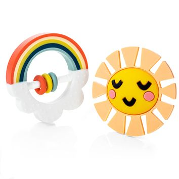 Little Rainbow Teether Toy - No Box, Brand New