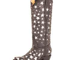 Corral Women's Silver Star Boots - A2040