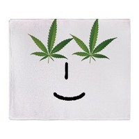 Pot Head Emote Throw Blanket> The Pot Head Emote> 420 Gear Stop
