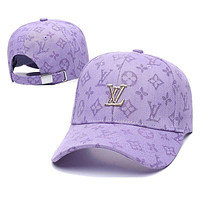 LV LOUIS VUITTON Fashion Snapbacks Cap Women Men LV Sports Sun Hat Baseball Cap