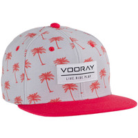 Vooray Palmer Snapback Hat Red