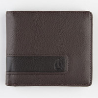 Nixon Showoff Wallet Brown One Size For Men 22062740001
