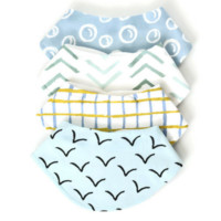Dolly Lana - Baby bandana bibs - flight