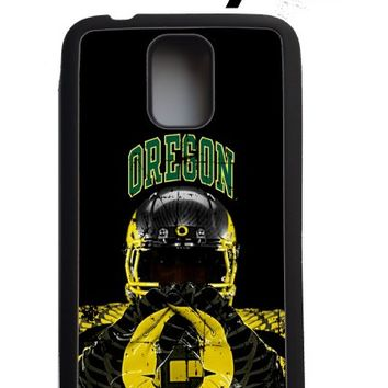 University of Oregon Ducks Samsung Galaxy s5 Case Hard Silicone Case From Cus2mize